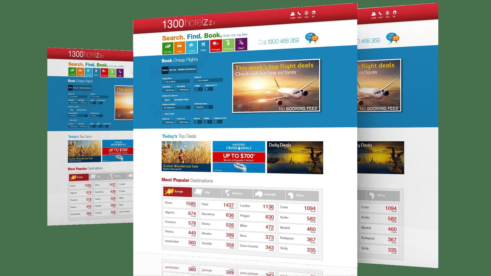 1300-Hotelz-Website
