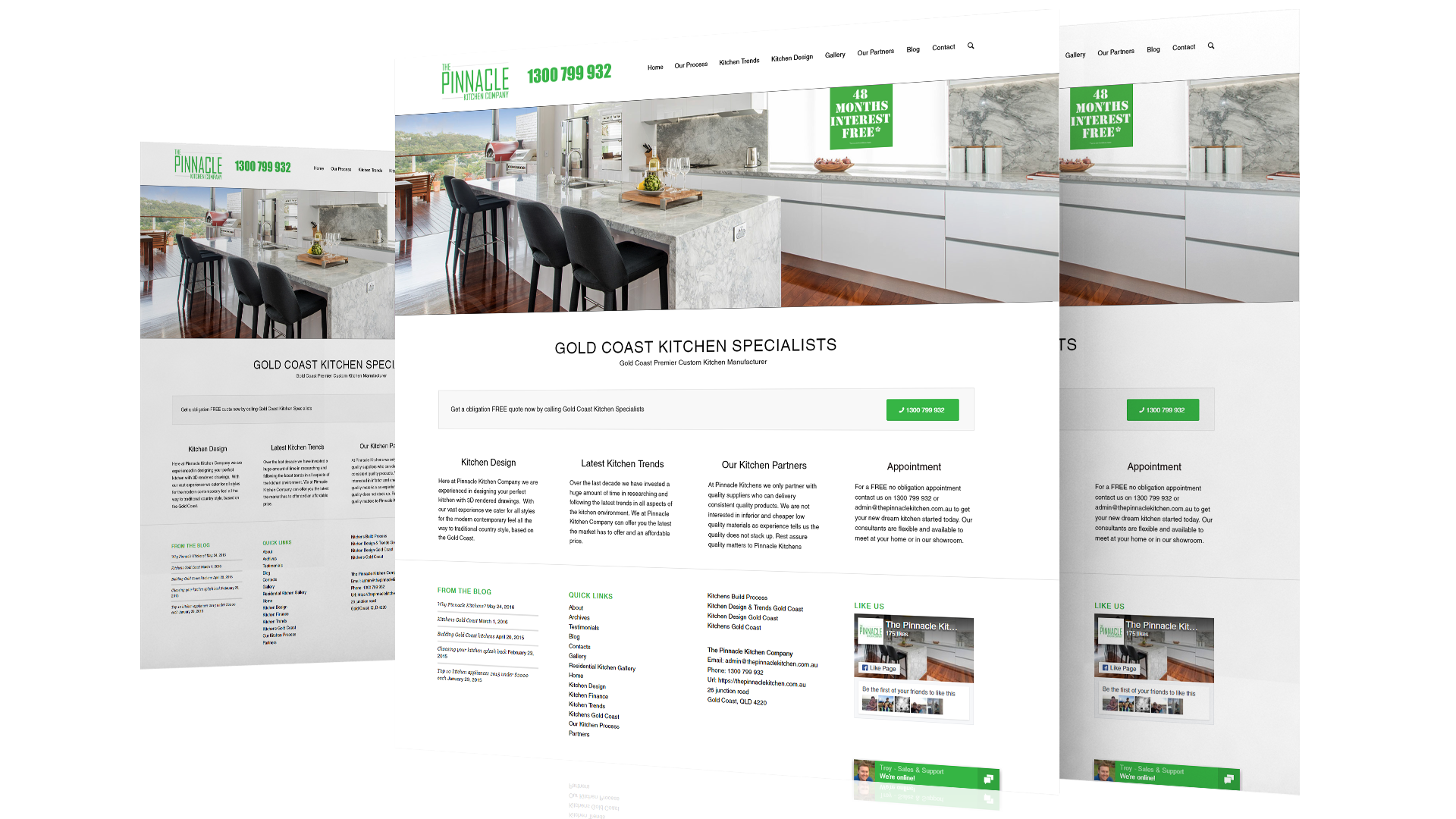 Pinnacle-Kitchens-website