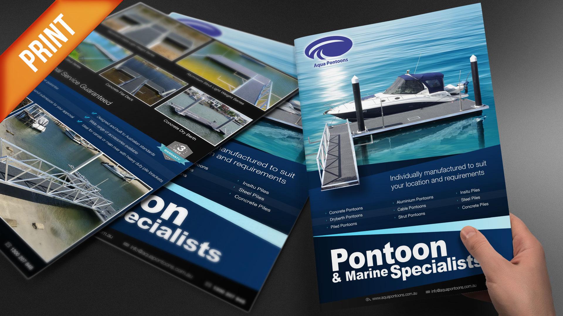 Print-Aqua-Pontoons-A4-Brochure