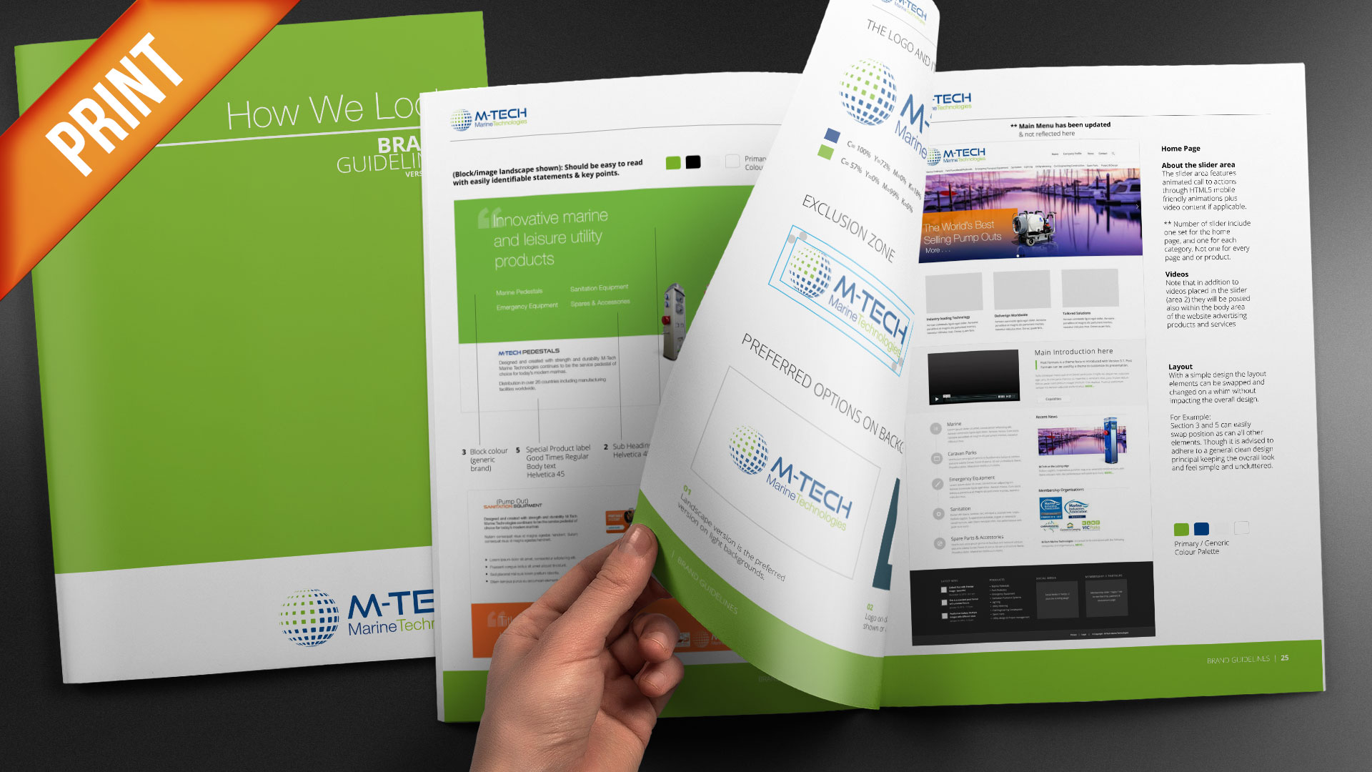 Print-30 Page Brochure Style-Guide-M-Tech
