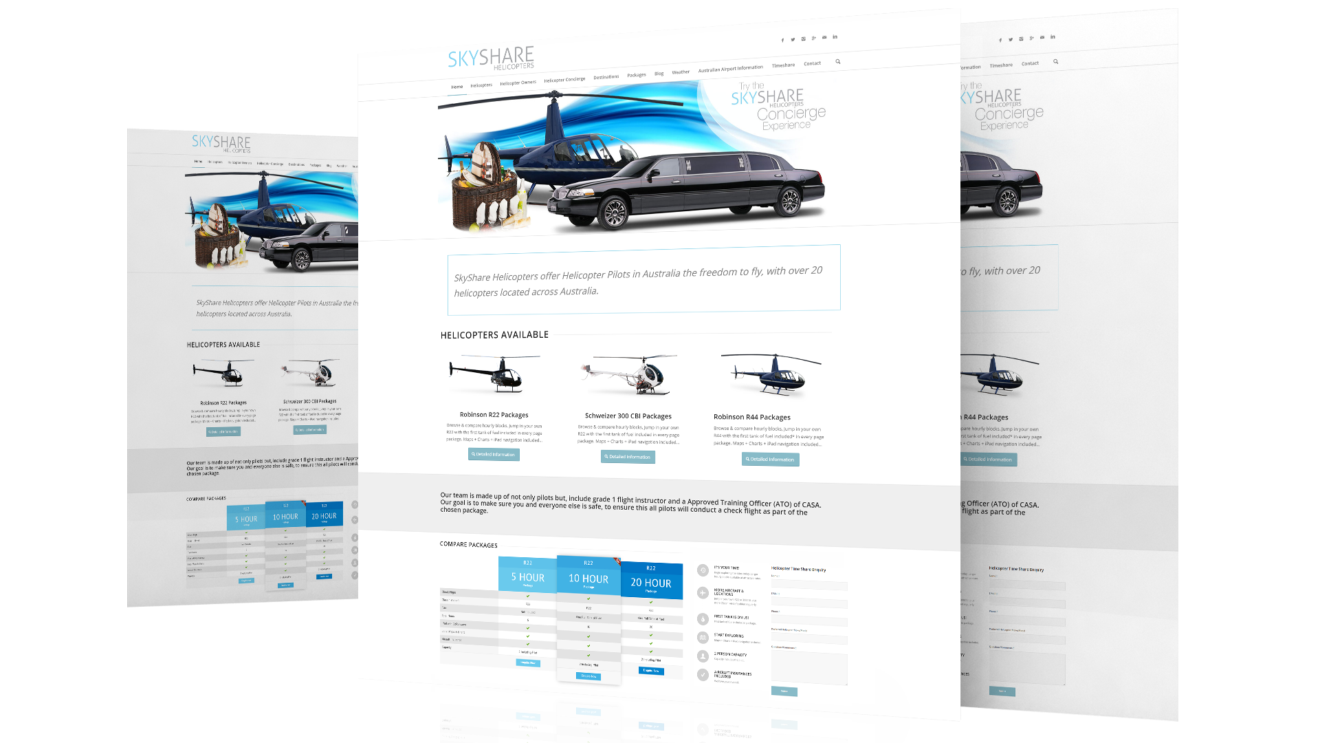 Skyshare-Helicopters-Website