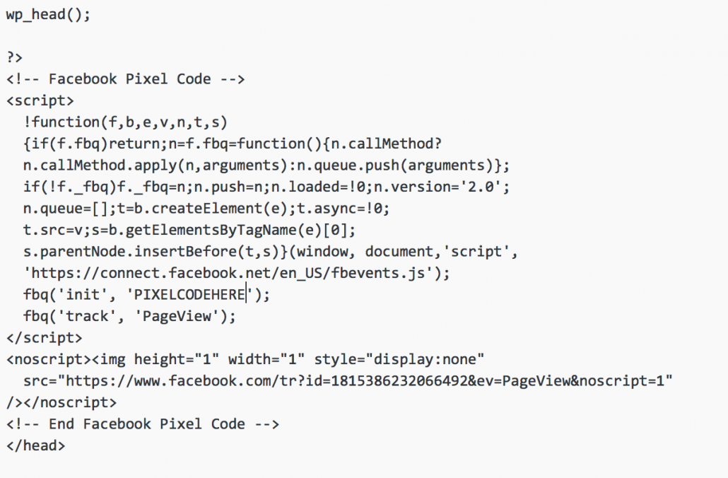 Step 5 Locate the head tags these are commonly found in the header file of your theme