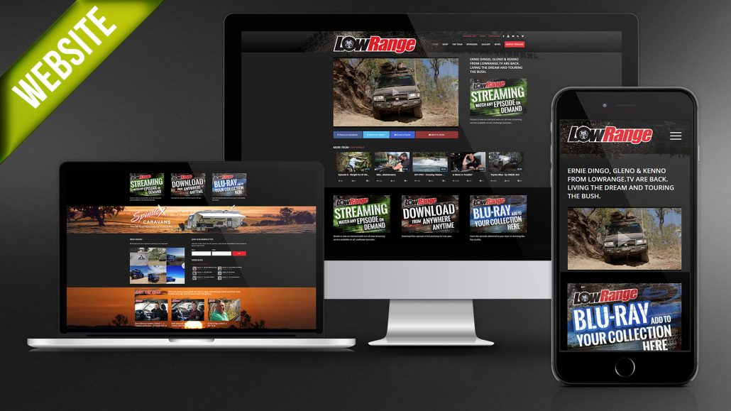 LowRange TV Website Development
