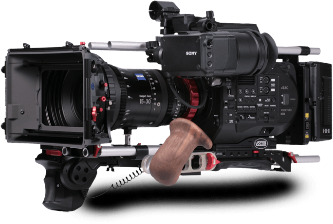 Media Booth Australia FS7 Video Broadcast Camera