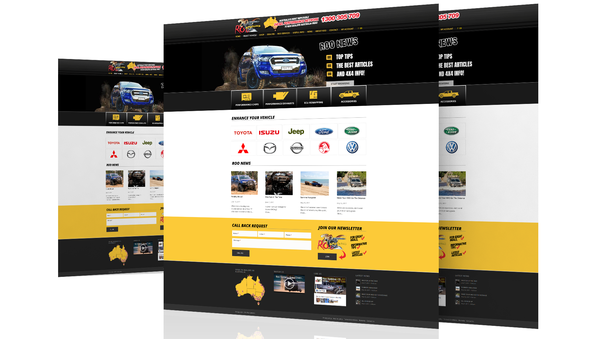 Roo Systems Website