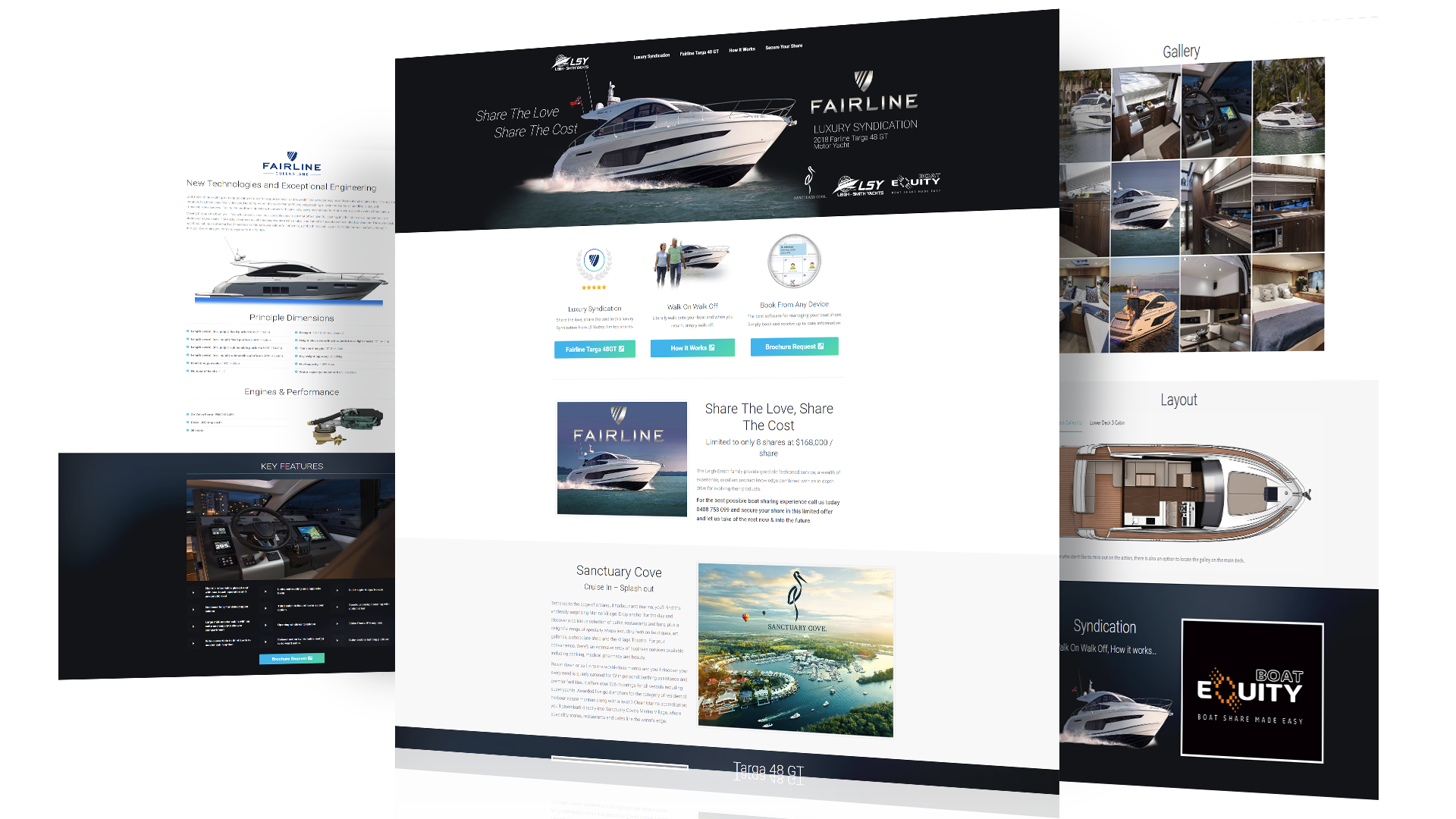 LSY Single Landing Page
