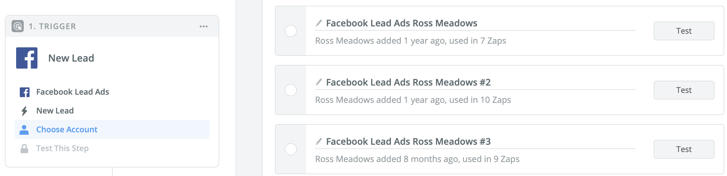 Connect Facebook to Zapier to email lead ads automatically