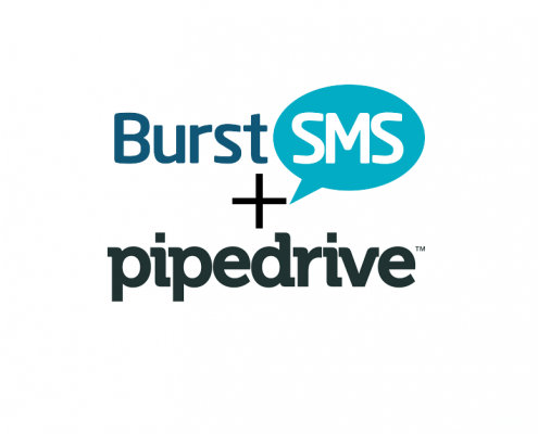 PipeDrive + Burst SMS Send automated text messages