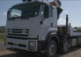 STG Global Isuzu Flat-Bed