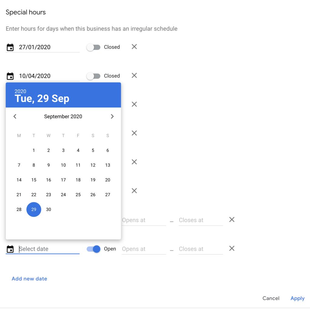 Step 4 - Google My Business Desktop